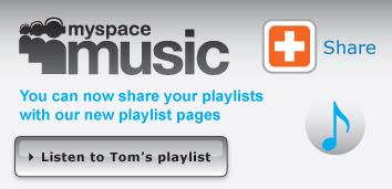 MySpace Music Playlist Pages